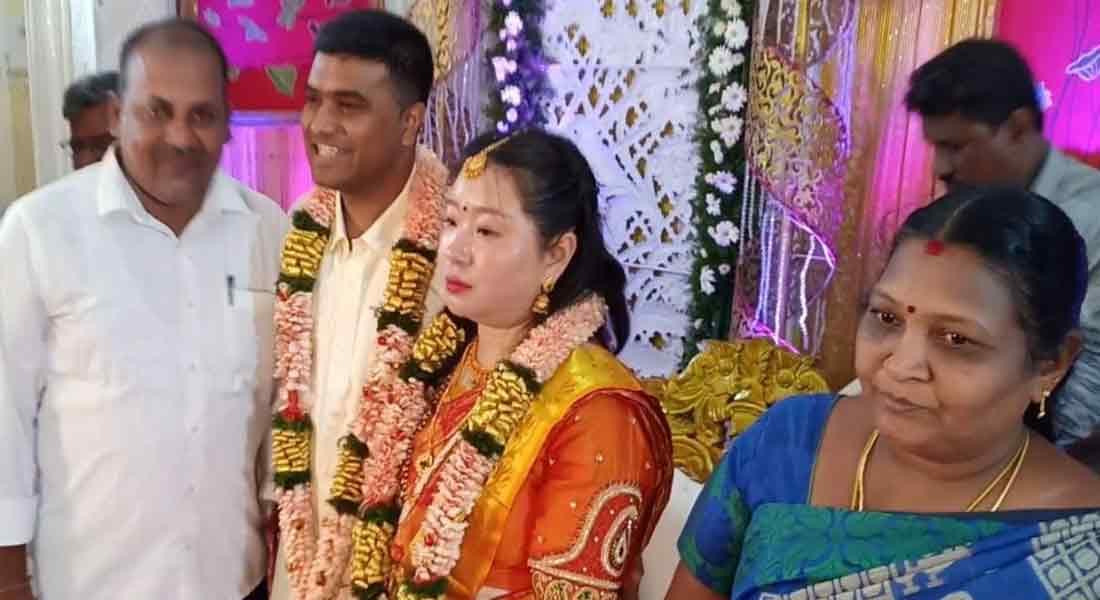 Salem doctor married Chinese woman!