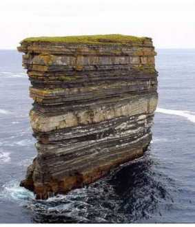 ireland country 350 million years in one picture