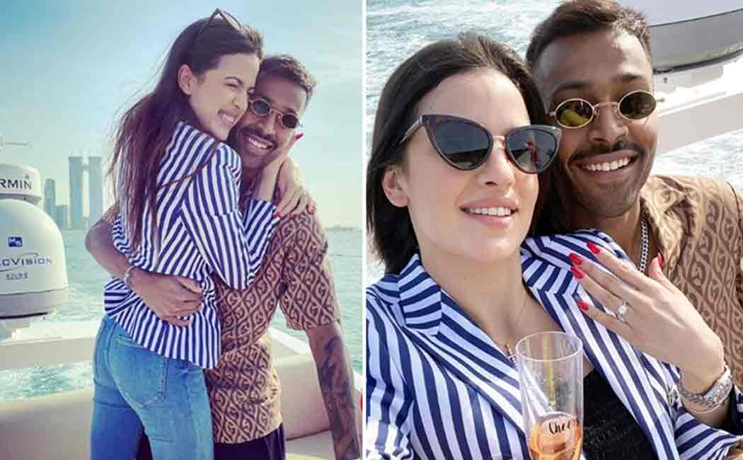 hardik pandya got hitched with actress natasha