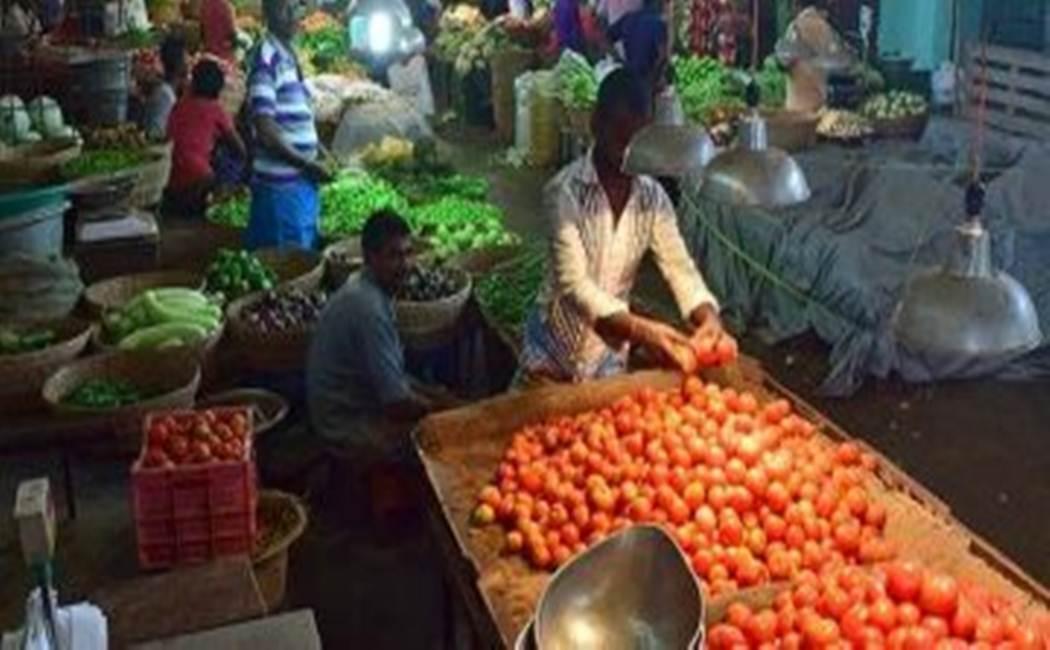 corona virus - koyambedu market lockdown