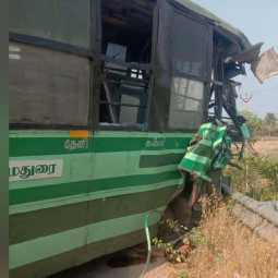 dindigul district bus and van incident employees