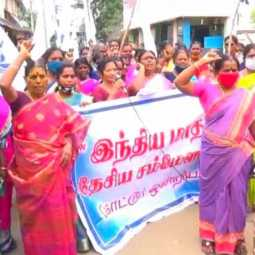 Cylinder price issue women demand to government to reduce price
