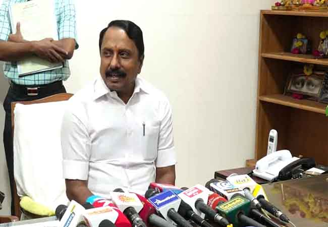 10th board exam tamilnadu minister kasengottaiyan pressmeet at erode