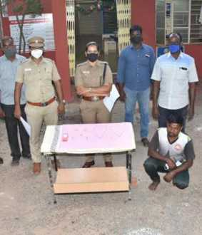 Two thief arrested cuddalore