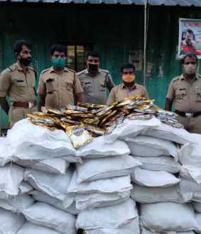 30 bags of Gutka tobacco found on Tamil Nadu-Kerala border