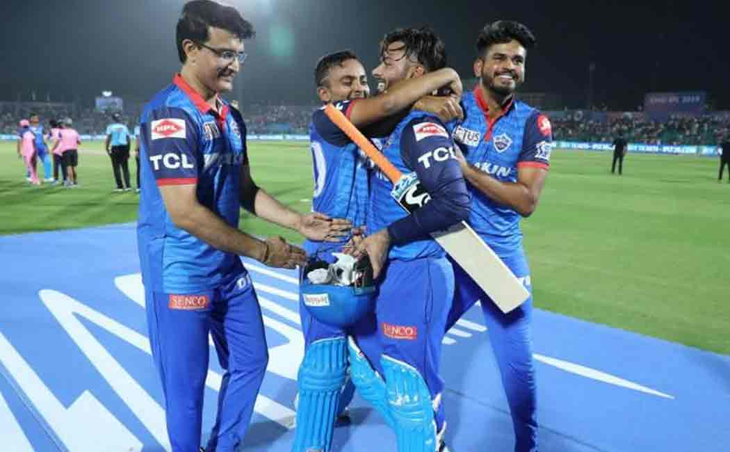 delhi capitals versus sunrisers hyderabad eliminator match