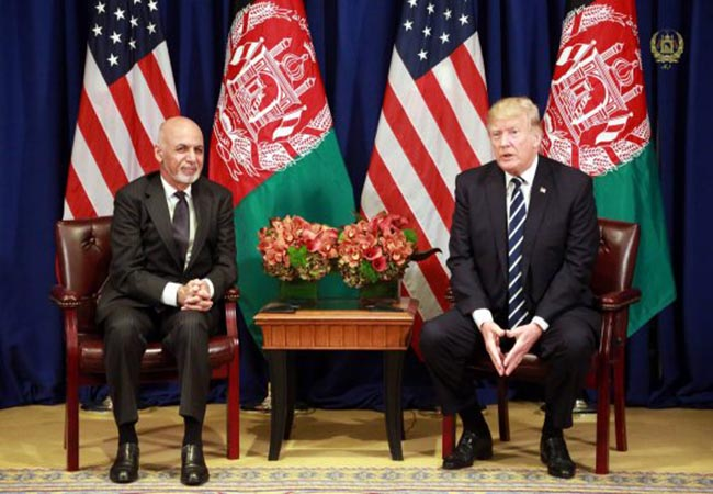 Afghanistan issue america president trump very long decision