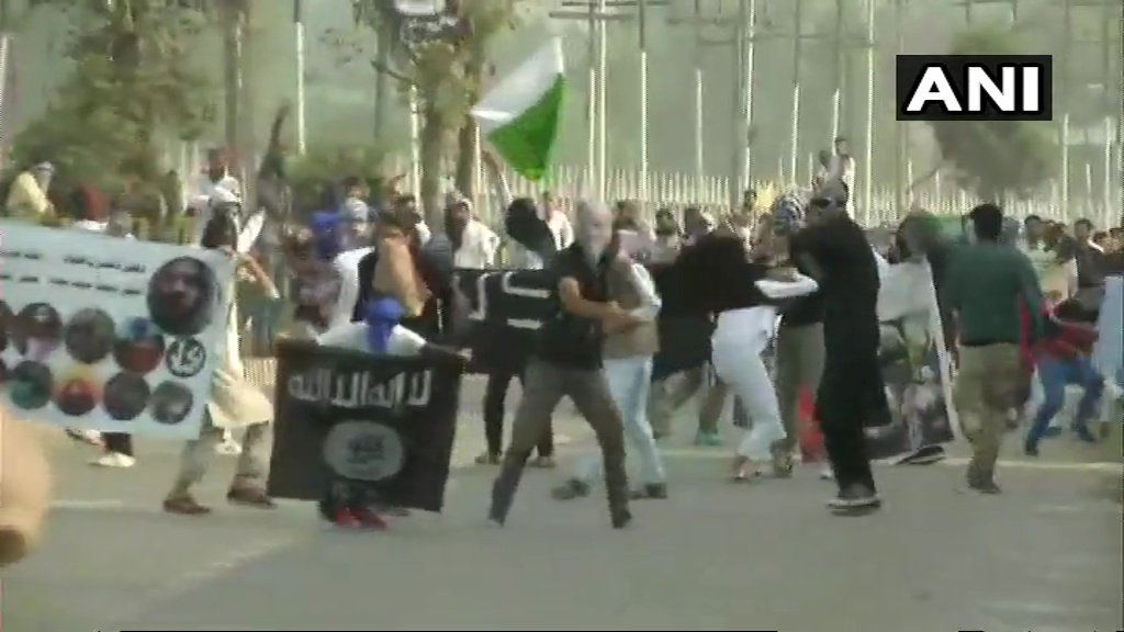 PAKISTAN AND ISIS FLAG