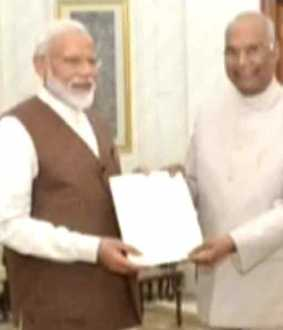 Narendra Modi to meet President of India