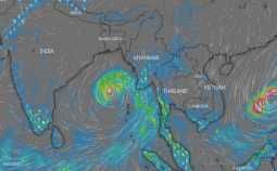 new cyclone in bay of bengal