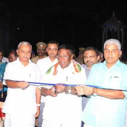 Exhibition of all India-wide handicrafts in puducherry