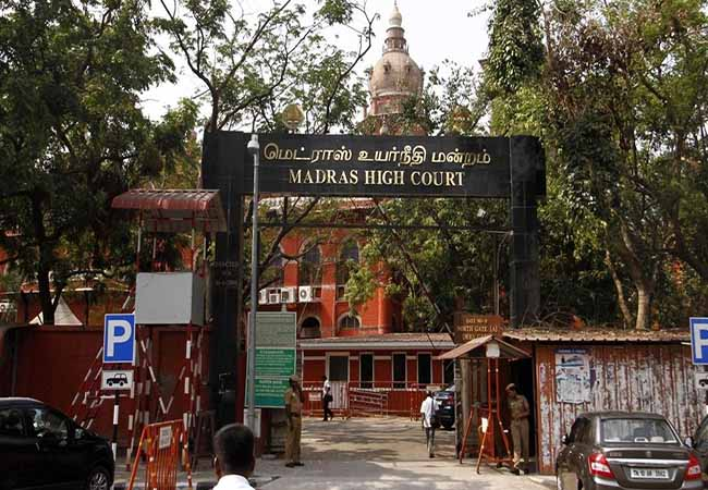 new building police station chennai high court order