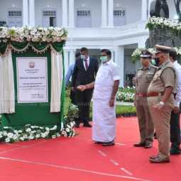 Edappadi Palanisamy  police commemoration day