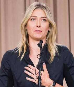 maria sharapova says goodbye to tennis