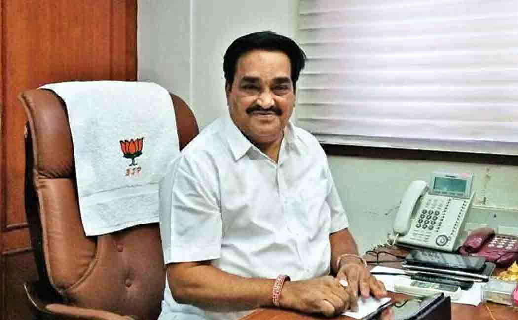 patil appointed as gujarat bjp president