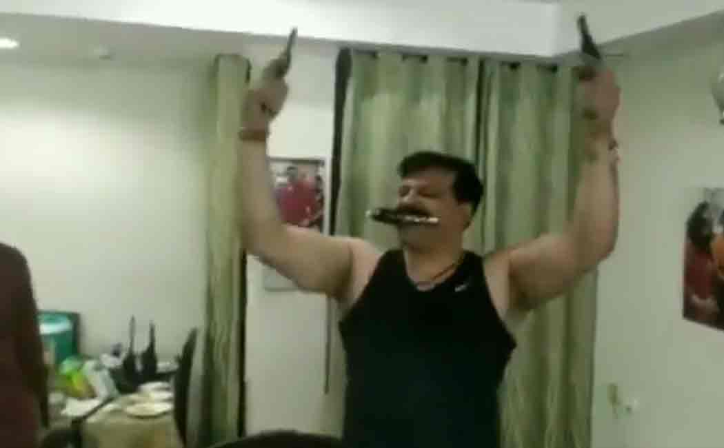 bjp mla pranav singh champions dancing video went viral on social media