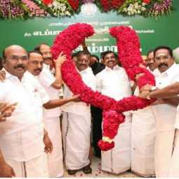 vellore constituency lok sabha election admk candidate ac shanmugam announced free education and amendment