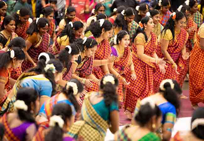 america tamil peoples celebrate the pongal festival