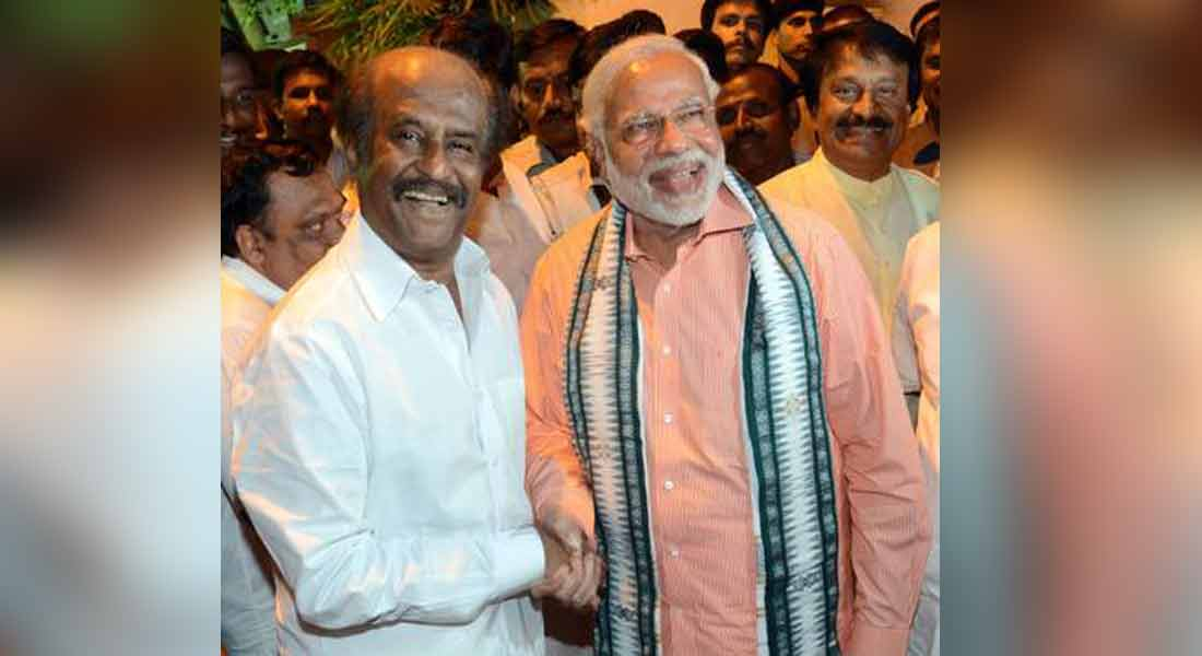 Congratulations to the strong Prime Minister-  actor Rajinikanth