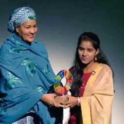 payal jangit wins change maker award in newyork