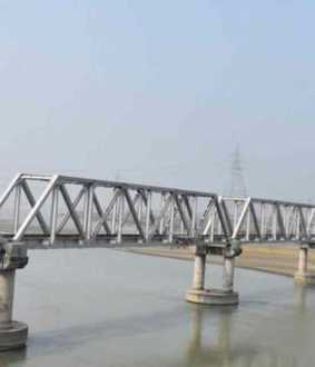 pm inaugurates kosi bridge