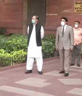 Pakistan's Charge d'affaires to India arrives at MEA on being summoned