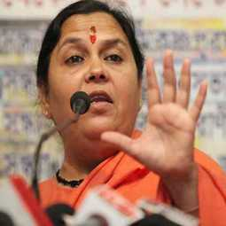 bjp minister umabharti spoke about secularism