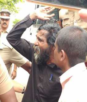 Mukhilan appeared in Karur court