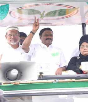 vellore lok sabha election admk change the election campaign
