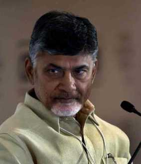 flood warning to chandrababu naidu home