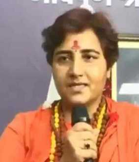 pragya singh thakur about continuous demises of bjp leaders