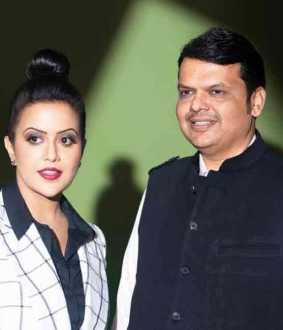 amrutha fadnavis faces remonstrance
