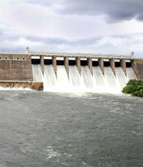 erode bhavani dam water flood peoples alert