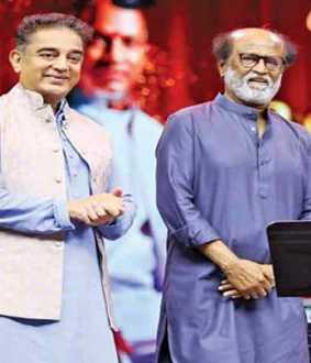 Kamal's key announcement with Rajini