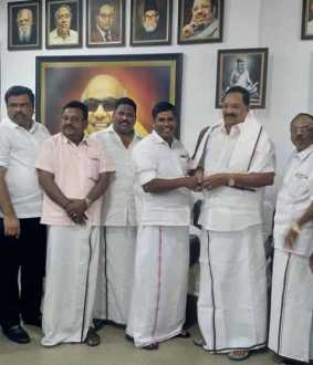PMK member Joined DMK