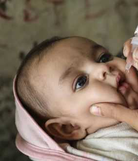all over india polio camp jan 20th union health ministry announced