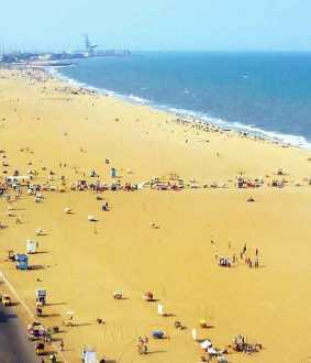 chennai marina beach international level changed chennai high order