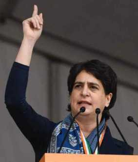 priyanka gandhi speech at bachao bharat rally