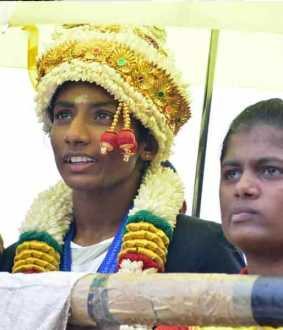 Dindigul student wins gold medal in boxing