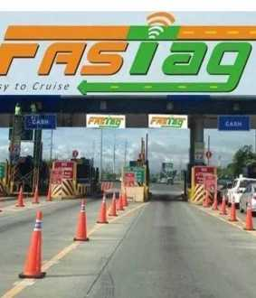 TOLL PLAZAS FASTAG STICKERS EXTEND JAN 15TH IN UNION GOVERNMENT ANNOUNCED