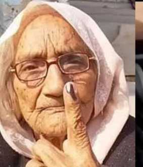 97 year old woman won election in rajasthan