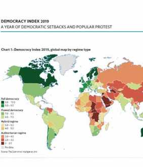 Democracy Index 2019 rank list