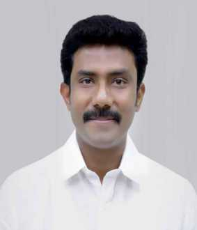theni district raveendranath kumar mp car 43 persons arrested police