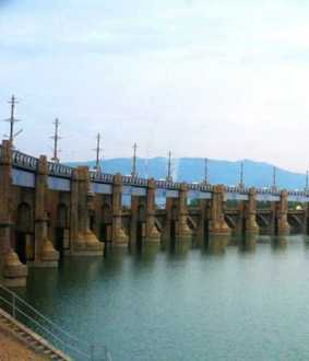 salem district mettur dam water level delta