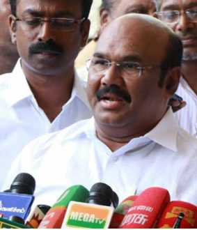 CHENNAI MINISTER JAYAKUMAR PRESS MEET