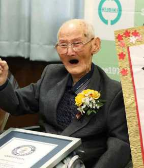 worlds oldest man Chitetsu Watanabe passed away