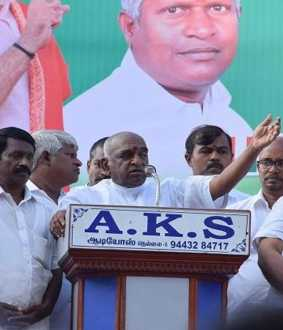 BJP Rally - Pon Radhakrishnan speech
