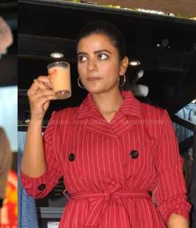 Mobile tea stall inaugurate by aishwarya rajesh