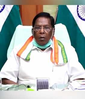 puducherry coronavirus strength increased cm narayanasamy