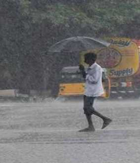 Heavy rains in several places including Chennai